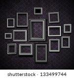 picture frame vector. vintage... | Shutterstock .eps vector #133499744