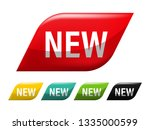 new tag banner label badge... | Shutterstock .eps vector #1335000599