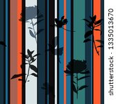 beautiful retro summer stripe... | Shutterstock .eps vector #1335013670