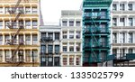 Exterior View Of A Block Of...