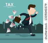 tax governent pay day | Shutterstock .eps vector #1335040379