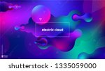 trendy abstract background .... | Shutterstock .eps vector #1335059000