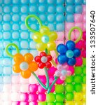 Colorful Balloons Decoration T...