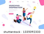 cloud header  search  idea... | Shutterstock .eps vector #1335092333