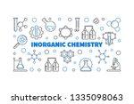 inorganic chemistry vector... | Shutterstock .eps vector #1335098063