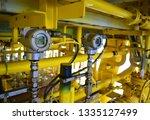 pressure transmitter to monitor ... | Shutterstock . vector #1335127499