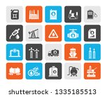 oil and petrol industry icons   ... | Shutterstock .eps vector #1335185513