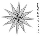abstract black and white... | Shutterstock .eps vector #1335190376