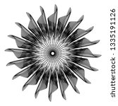 abstract black and white... | Shutterstock .eps vector #1335191126