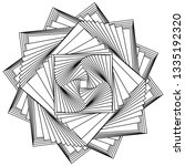abstract black and white... | Shutterstock .eps vector #1335192320