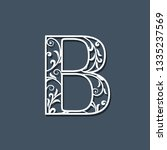 initial letter b. floral...