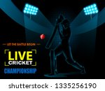 concept of sportsman playing...   Shutterstock .eps vector #1335256190