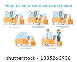 infographic for mothers of... | Shutterstock .eps vector #1335263936