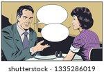 stock illustration. man and... | Shutterstock .eps vector #1335286019