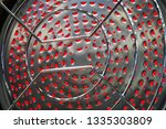 protective grille for... | Shutterstock . vector #1335303809