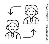 replace   employee   user   | Shutterstock .eps vector #1335304919