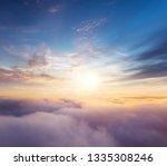 Beautiful Sunset Cloudy Sky...