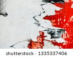 old posters grunge textures and ...   Shutterstock . vector #1335337406