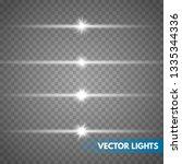 glow special light effect ... | Shutterstock .eps vector #1335344336