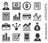 business  money and management...   Shutterstock .eps vector #1335376976