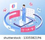 online medicine healthcare... | Shutterstock .eps vector #1335382196