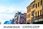 osaka  japan   jan 23  2019 ... | Shutterstock . vector #1335411029