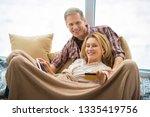 selective focus of woman... | Shutterstock . vector #1335419756