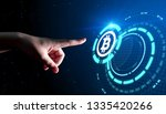 bitcoin cryptocurrency digital... | Shutterstock . vector #1335420266