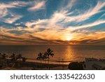 beautiful sundowner in puerto... | Shutterstock . vector #1335422630
