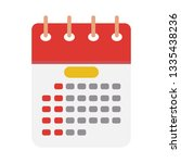 day calendar icon  vector event ... | Shutterstock .eps vector #1335438236