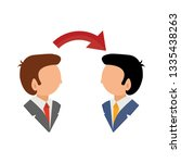 conversation icon   vector... | Shutterstock .eps vector #1335438263
