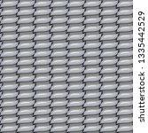 seamless metal fabric... | Shutterstock . vector #1335442529