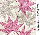 Maple Leaves Seamless...