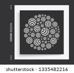 multiple spheres on a larger... | Shutterstock .eps vector #1335482216