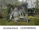 grotesque sculpture in the... | Shutterstock . vector #1335489830