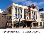 albuquerque  new mexico  usa ... | Shutterstock . vector #1335509243