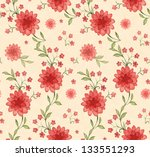 seamless pattern with... | Shutterstock . vector #133551293