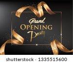 grand opening invitation banner ... | Shutterstock .eps vector #1335515600