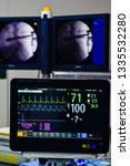 monitor vital sign and ekg...   Shutterstock . vector #1335532280
