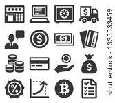 money icon set   Shutterstock . vector #1335533459