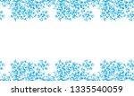 hand drawn flower seamless... | Shutterstock .eps vector #1335540059