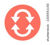 simple arrow sign icon | Shutterstock .eps vector #1335551150