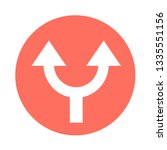 simple arrow sign icon | Shutterstock .eps vector #1335551156