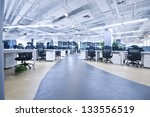large modern office  no one | Shutterstock . vector #133556519