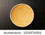 japanese bamboo strainer   Shutterstock . vector #1335576503