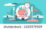 fasting vector illustration.... | Shutterstock .eps vector #1335579509