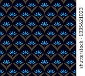 japan wave pattern original... | Shutterstock .eps vector #1335621023