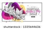 modern template design for mom... | Shutterstock .eps vector #1335644636