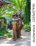 chiang mai  thailand   april  4 ... | Shutterstock . vector #1335657950