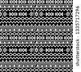 tribal art  ethnic seamless... | Shutterstock .eps vector #1335717296